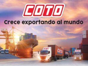 Coto, una empresa que exporta, un país que crece