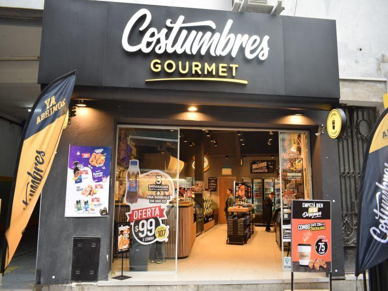 COSTUMBRES ARGENTINAS LOCALES COMERCIALES CADENAS DE FRANQUICIAS, RETAIL PANADERIAS