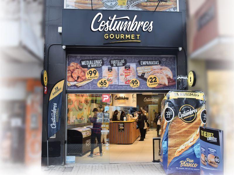 COSTUMBRES ARGENTINAS CADENAS DE FRANQUICIAS LOCALES COMERCIALES RETAIL