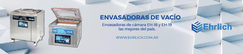 EHRLICH ENVASADORAS DE VACIO TERMOSELLADORAS GASTRONOMIA