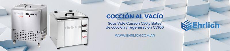 EHRLICH COCCION AL VACIO GASTRONOMIA ENVASADORAS DE VACIO TERMOSELLADORAS