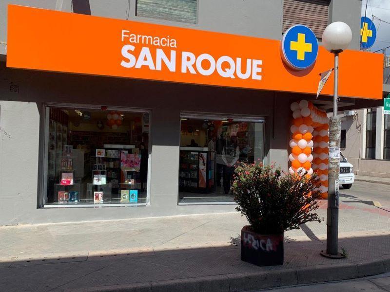 SAN ROQUE FARMACIAS LOCALES COMERCIALES URUGUAY RETAIL