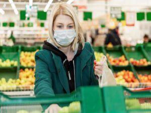 Las ventas en los supermercados bajaron casi un 9% en marzo