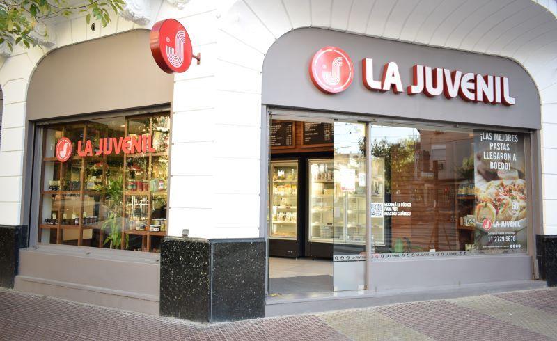 LA JUVENIL RETAIL CADENAS DE FRANQUICIAS LOCALES COMERCIALES PASTAS FACTORY KLD ARGENTINA GASTRONOMIA