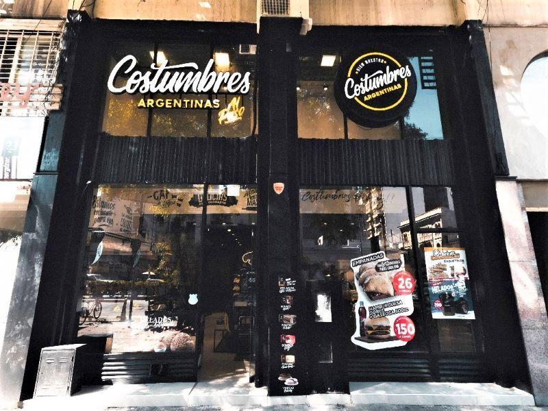 COSTUMBRES ARGENTINAS CADENAS DE FRANQUICIAS LOCALES COMERCIALES RETAIL GASTRONOMIA