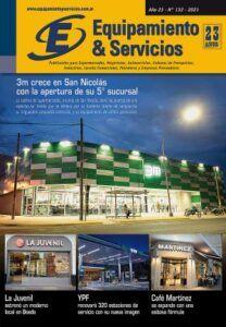 REVISTA EQUIPAMIENTO & SERVICIOS EDICIÓN N° 132 RETAIL SUPERMERCADOS LOCALES COMERCIALES CADENAS DE FRANQUICIAS GASTRONOMIA MAYORISTAS EQUIPAMIENTO COMERCIAL TECNOLOGIA