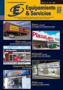 REVISTA EQUIPAMIENTO & SERVICIOS EDICIÓN 133 RETAIL SUPERMERCADOS LOCALES COMERCIALES CADENAS DE FRANQUICIAS INDUSTRIAS